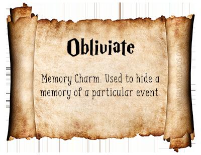 10 - Obliviate