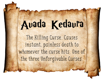 19 - Avada Kedavra